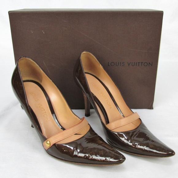 acfd16432e37d Louis Vuitton Shoes | Womens Pumps Patent Leather 35 | Poshmark